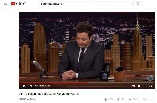 US-Moderator ringt mit Tränen in seiner Show