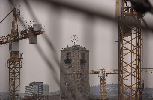 Graue Wolken über der S-21-Baustelle: Günstiger wird das Projekt jedenfalls nicht. Foto: Lichtgut/Kovalenko