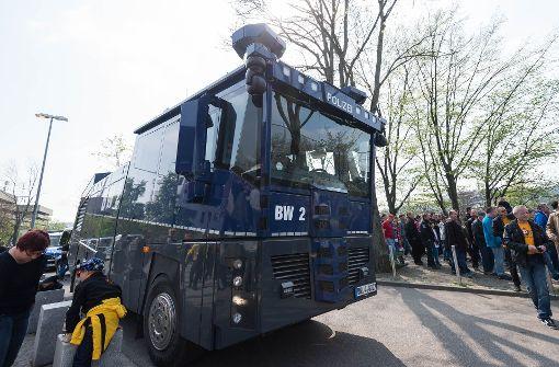 Polizei erwartet viele gewaltbereite Fans