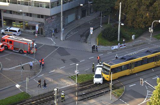 Ein Taxifahrer wollte am Montagmorgen... Foto: Andreas Rosar Fotoagentur-Stuttg