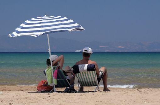Griechenland bei Urlaubern stark gefragt
