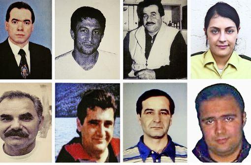 Die zehn Opfer des NSU