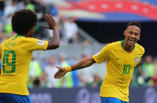 Brasilien erreicht Viertelfinale der Fußball-WM