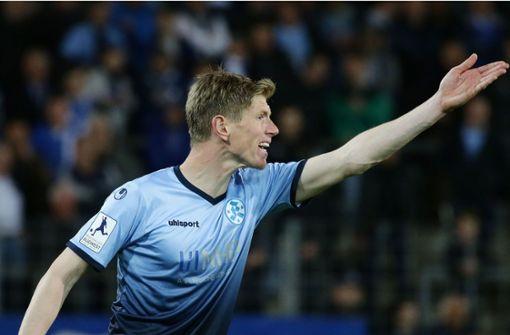 Tobias Feisthammel von den Stuttgarter Kickers Foto: Pressefoto Baumann