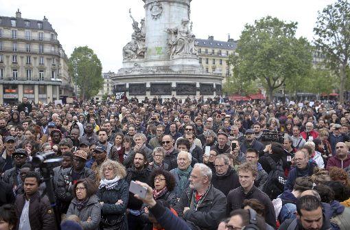 Tausende Franzosen protestieren gegen Macron