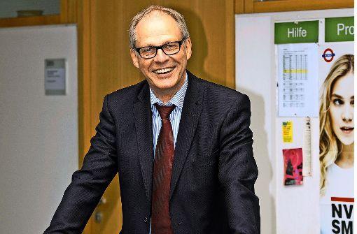 Der Göppinger Hans-Peter Gramlich hat sich in den Ruhestand verabschiedet. Foto: Horst Rudel
