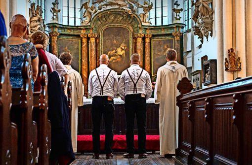 Gleichgeschlechtliche Trauungen in der Kirche entzweien die Protestanten – das gilt auch im Kreis Ludwigsburg. Foto: dpa