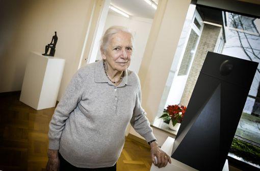 Weit jenseits der 90 – und noch immer voller Lebenskraft: Hildegard Ruoff Foto: Horst Rudel