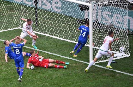 Ungarn erreicht ein glückliches Unentschieden