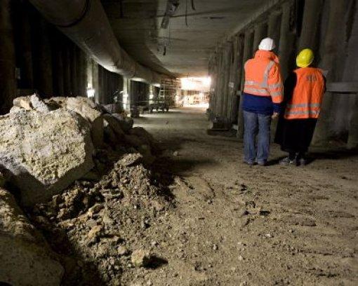 Tunnelbau bis an die Türschwelle