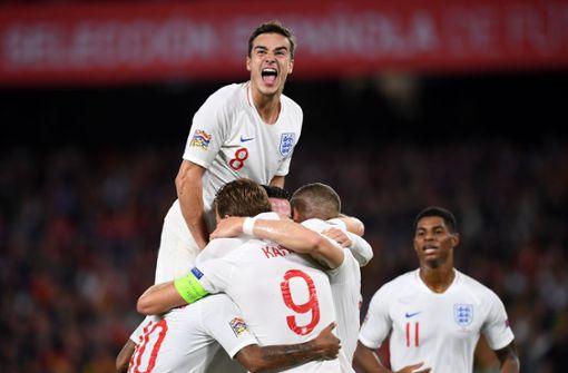 England setzt Ausrufezeichen in Spanien