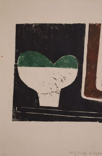 Das Stilleben von Fritz Ruoff aus dem Jahr 1958 war lange verschollen.  Foto: Ralf Just