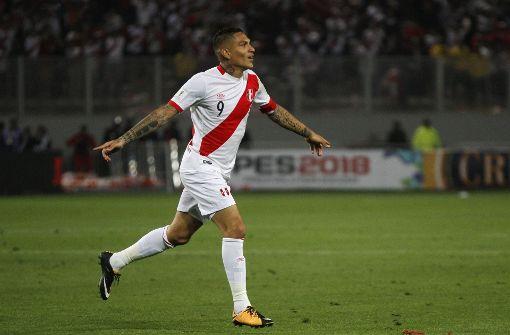 Peru-Kapitän Paolo Guerrero gesperrt – wegen Kokain