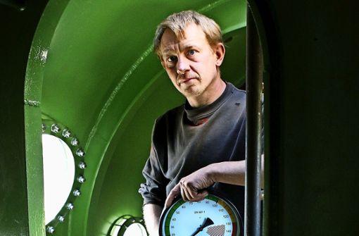Peter Madsen in seinem U-Boot Nautilus Foto: AP