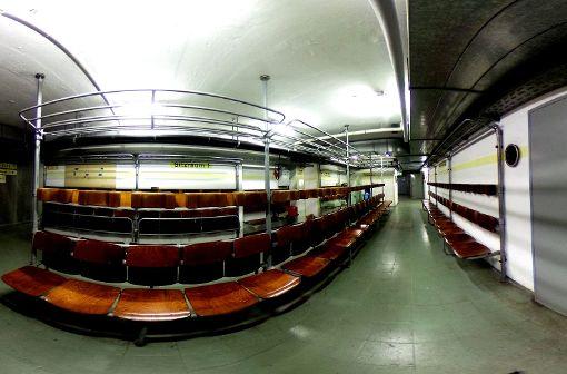 Exklusiver Blick in 12 Stuttgarter Bunker