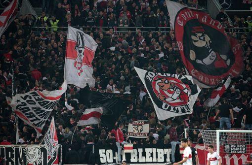 Polizeiliche Maßnahmen gegen VfB-Ultras