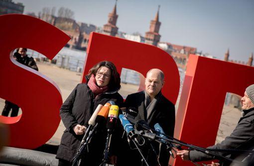SPD-Führung gibt sich optimistisch