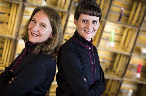 Alexandra Steinmann (li.) und Mascha Hülsewig. Foto: Leif Piechowski