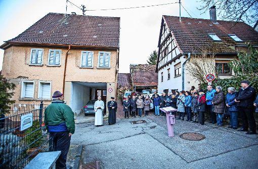 Vaihinger Stadtteil Aurich trägt Trauer