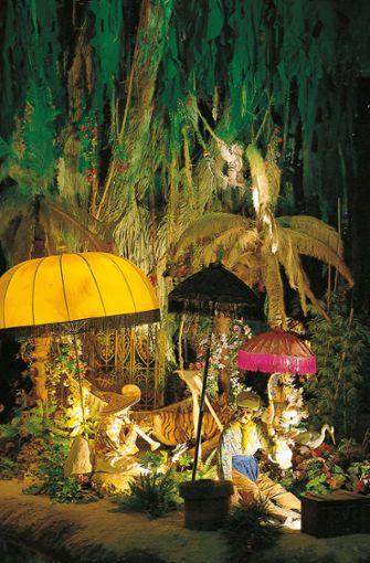 Orientalische Details und die richtige Beleuchtung entführen in eine Welt von damals.  Foto: Europa-Park