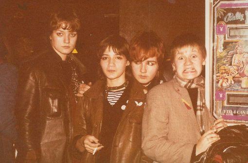 Die Punk-Wave-Gruppe Frauenklinik probte damals im Keller eines Bürogebäudes an der Maybachstraße in Feuerbach. Foto: Sammlung Steiner/Rehlinger/Fonfara/Prothmann/Frauenklinik