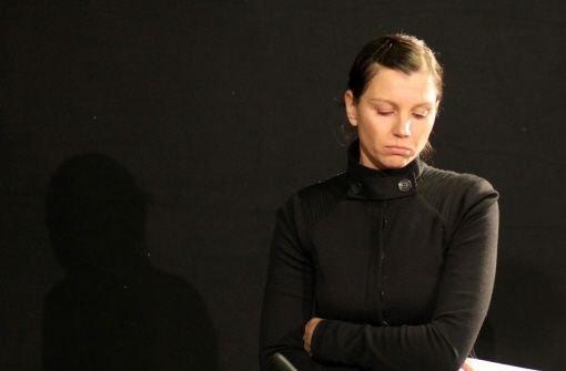 Teresa, die Witwe des 2009 gestorbenen Fußball-Nationaltorhüters Robert Enke. Foto: dpa
