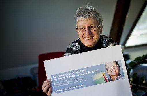 Silke Kiesgen hat im Internet eine Börse für arbeitswillige Rentner eröffnet Foto: Max  Kovalenko