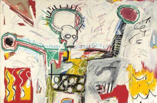 Demandt-Bühne I: In der Kunsthalle Schirn dominieren aktuell die Werke von Jean-Michel Basquiat ... Foto:  Courtesy Museum Boijmans Van Beuningen, Rotterdam, Foto: Studio Tromp, Rotterdam Foto: