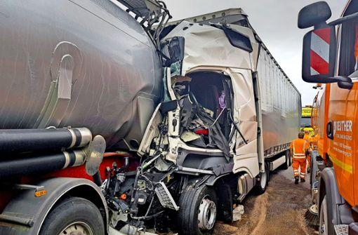 Max Achtzig soll Lastwagenfahrer bremsen