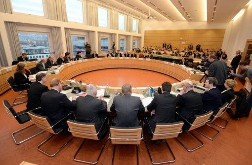 Der NSU-Untersuchungsausschuss. Foto: dpa