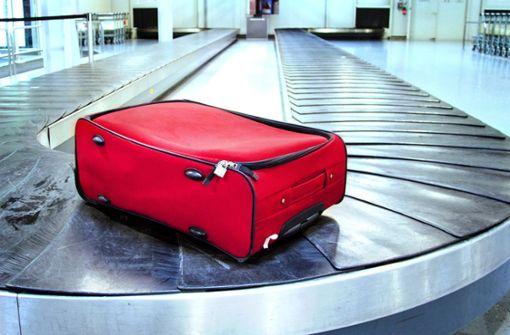 Als Letzter am Gepäckband