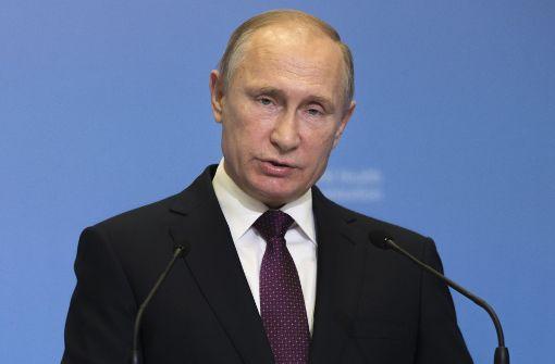 Putin sieht Ende des Militäreinsatzes näher rücken