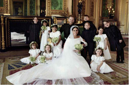 Harry und Meghan veröffentlichen ihre offiziellen Hochzeitsfotos