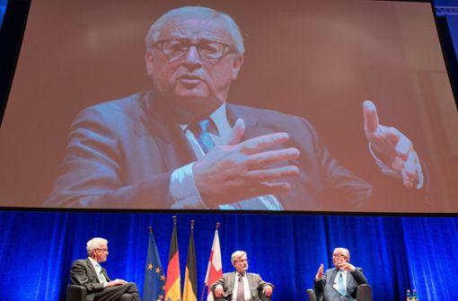 Juncker warnt vor Gleichgültigkeit gegenüber Europa