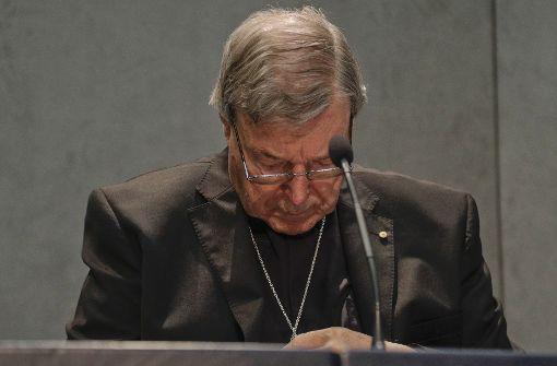 Papst-Vertrauter unter schwerem Verdacht