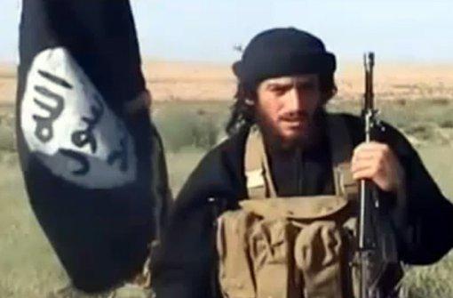 IS-Terrormiliz verkündet Tod ihres Sprechers