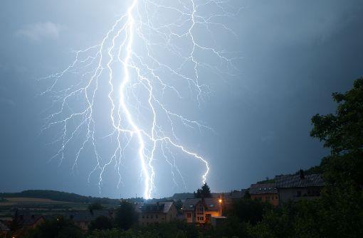 Unwetter sorgt für Chaos in Baden-Württemberg