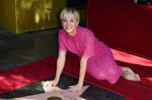 Stern für Big Bang Theory-Star