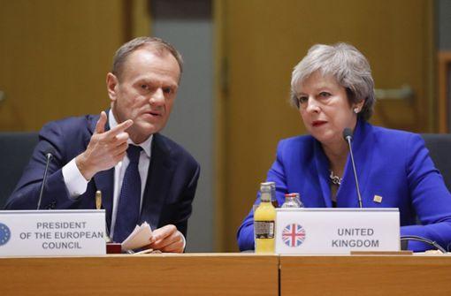 EU-Ratspräsident Tusk beruft Brexit-Gipfel ein