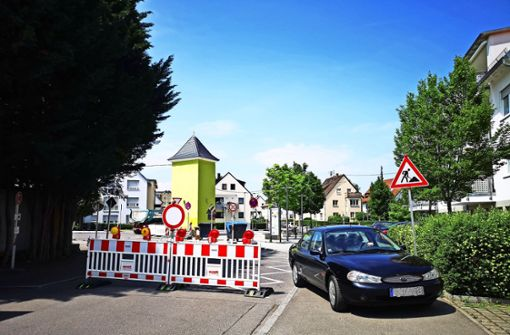 Der Baustellen-Endspurt legt Schmiden lahm