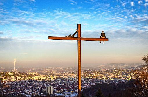 Kletterer auf dem Birkenkopf: Ein atemberaubender Anblick