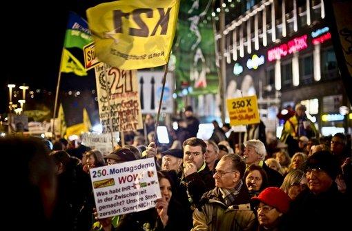 Der Protest will zurück ins Bewusstsein