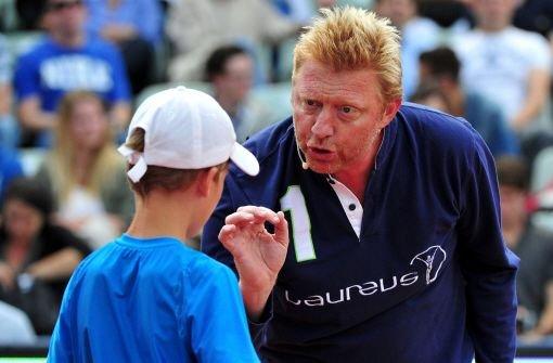 Tennis schauen und Boris Becker treffen
