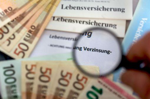 Zinsen für Lebensversicherungen bleiben stabil