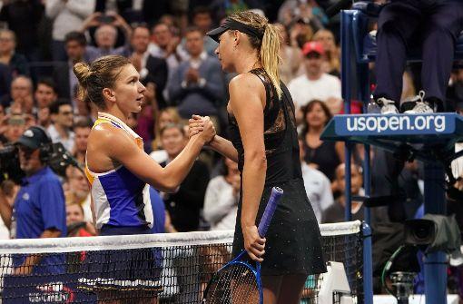 Scharapowa feiert erfolgreiches US-Open-Comeback