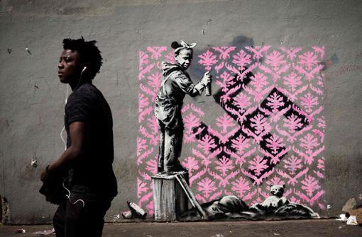 Banksy hinterlässt offenbar neue Kunstwerke