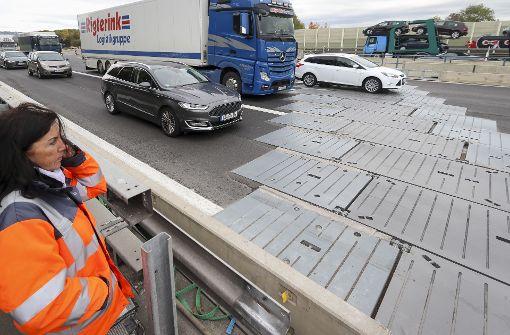 Autobahn-Raser schanzen ins Fahrverbot