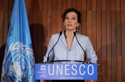 Audrey Azoulay wird Chefin der Unesco. Foto: AFP
