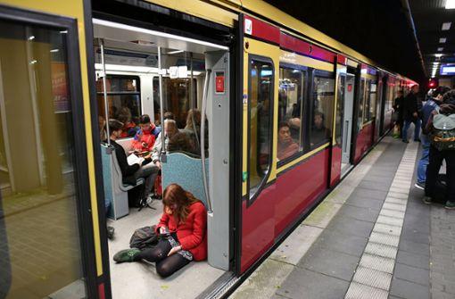 Polizeieinsatz nach Oralsex in der S-Bahn