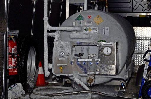Sauerstoff-Transporter durfte im Wohngebiet parken